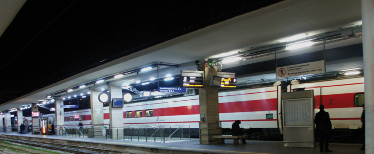 illuminazione a led ferrovie